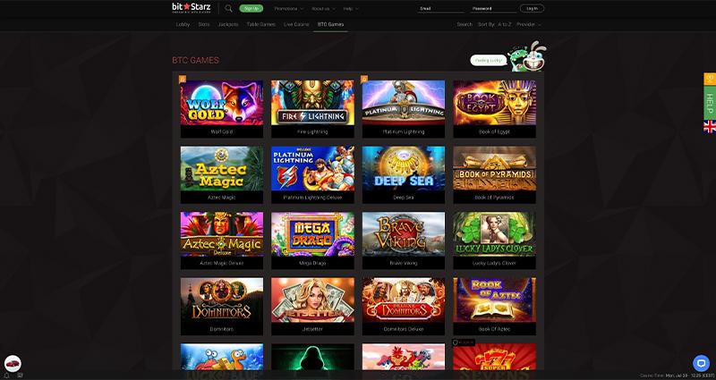 Bitstarz-BTC-Games