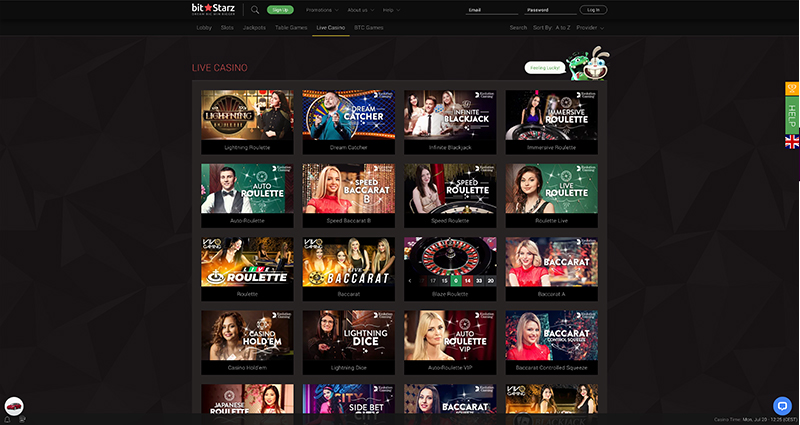 Bitstarz-Live-Casino