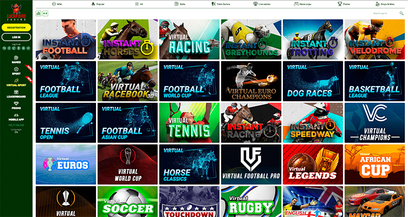 Lucky Bird Casino Virtual Sport