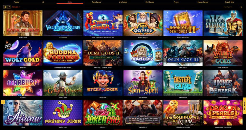 Spinamba Casino - Slots