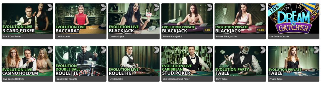 Royal Vegas Casino - Live Casino