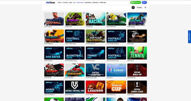 Slottica Casino Virtual Sport