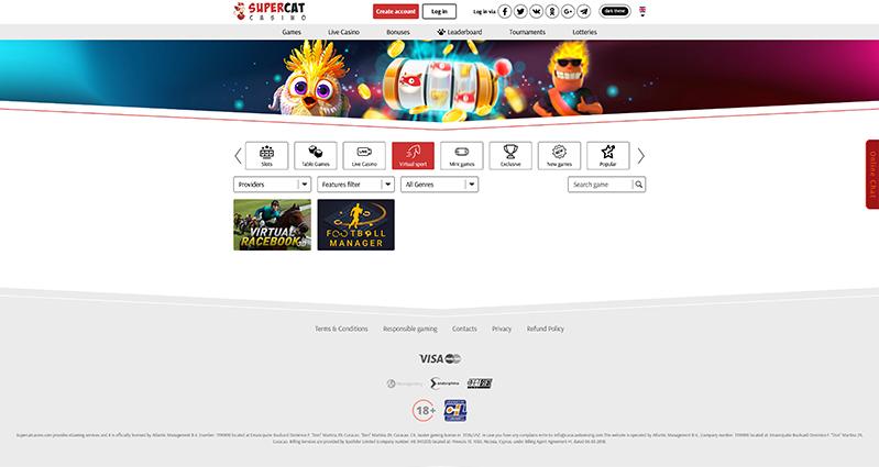 SuperCat-Casino-Virtual-Sports
