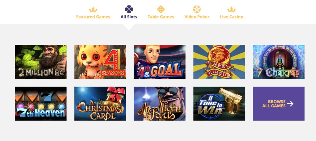 VipSlots Casino Slots