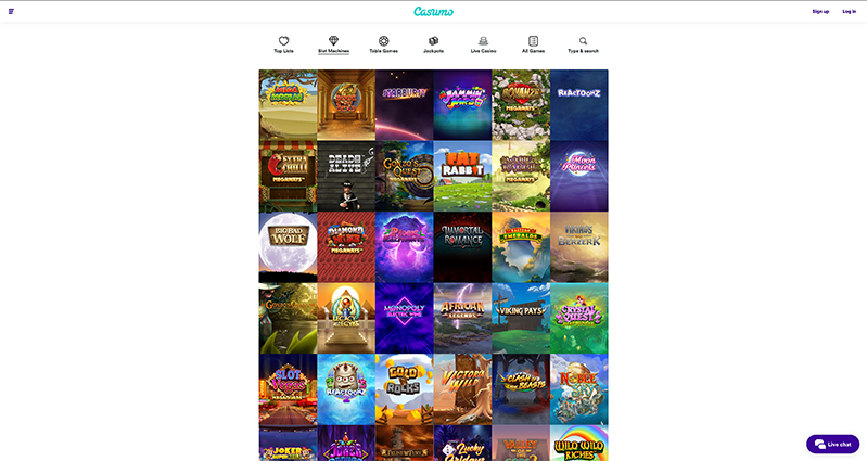 CasumoCasino Slot Games