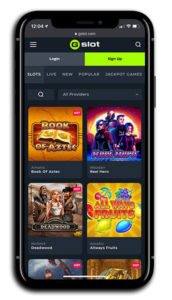 GSlot Casino mobile