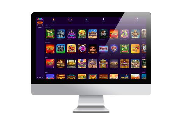 Wheelz Casino Desktop