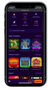 Wheelz Casino Mobile