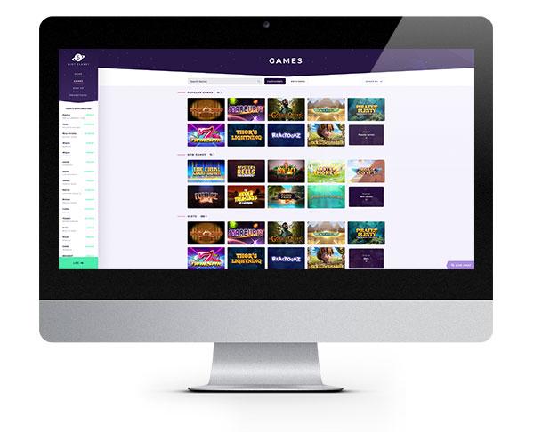 Slot Planet Desktop No Deposit Free Spins