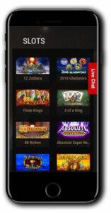 King Billy Mobile Casino No deposit