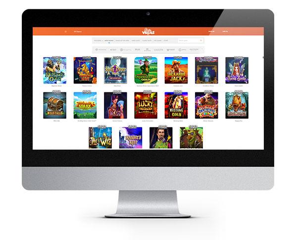 Slotty Vegas desktop No Deposit Spins